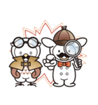 Moo! Moo! & Friends! ゆるゆる天国 ④(個別スタンプ:23)