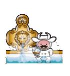 Moo! Moo! & Friends! ゆるゆる天国 ④(個別スタンプ:28)