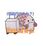 金フグ(個別スタンプ:01)