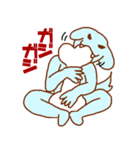 犬系男子 青男(個別スタンプ:22)