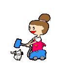 お団子ママの日常生活(個別スタンプ:03)