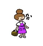 お団子ママの日常生活(個別スタンプ:07)