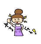 お団子ママの日常生活(個別スタンプ:10)