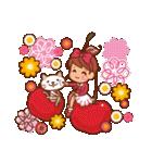 英語でPOP!お花いっぱい日常スタンプ(個別スタンプ:10)