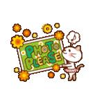 英語でPOP!お花いっぱい日常スタンプ(個別スタンプ:11)
