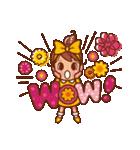 英語でPOP!お花いっぱい日常スタンプ(個別スタンプ:15)
