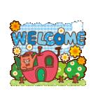英語でPOP!お花いっぱい日常スタンプ(個別スタンプ:17)