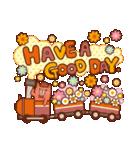 英語でPOP!お花いっぱい日常スタンプ(個別スタンプ:26)