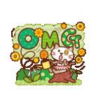 英語でPOP!お花いっぱい日常スタンプ(個別スタンプ:28)