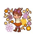 英語でPOP!お花いっぱい日常スタンプ(個別スタンプ:39)