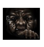 暗闇のおばあさん(個別スタンプ:6)