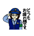 高橋巡査の交番日誌~その4。(個別スタンプ:16)