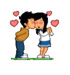 BEST FRIENDS IN LOVE (NAI AND NINA)(個別スタンプ:25)