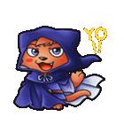 お祭りちゃんの奇想世界5(個別スタンプ:1)