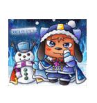 お祭りちゃんの奇想世界5(個別スタンプ:40)