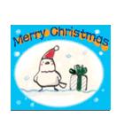 鈴と雀とクリスマス(個別スタンプ:01)