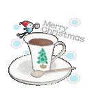 鈴と雀とクリスマス(個別スタンプ:02)