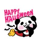 パンダぁー5【秋&ハロウィン編】(個別スタンプ:3)