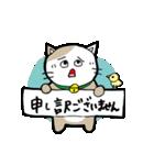 猫仲間(個別スタンプ:09)