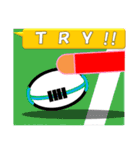 ラグビー試合速報(ワラビー)スタンプ3(個別スタンプ:5)