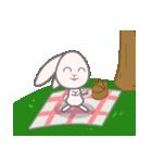 週末の公園ピクニック花見(個別スタンプ:12)