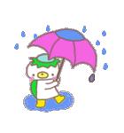 くまカッパ(個別スタンプ:02)