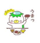 くまカッパ(個別スタンプ:03)