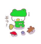 くまカッパ(個別スタンプ:05)