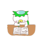 くまカッパ(個別スタンプ:40)