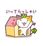 猫と四つ葉のクローバー 4(個別スタンプ:06)