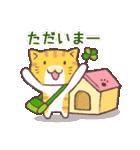 猫と四つ葉のクローバー 4(個別スタンプ:07)