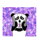 挑発的なパンダ 第2弾(個別スタンプ:10)