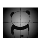 挑発的なパンダ 第2弾(個別スタンプ:33)