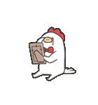 柴さんと手羽崎さん5(個別スタンプ:38)