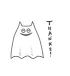 ネコおばけ(個別スタンプ:01)