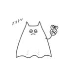 ネコおばけ(個別スタンプ:09)