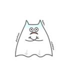 ネコおばけ(個別スタンプ:15)