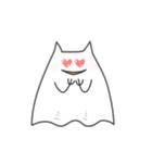 ネコおばけ(個別スタンプ:17)