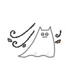 ネコおばけ(個別スタンプ:35)