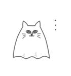 ネコおばけ(個別スタンプ:38)