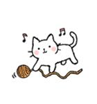 かわいい子猫(フランス語)(個別スタンプ:29)