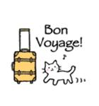かわいい子猫(フランス語)(個別スタンプ:40)