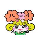 カラフル可愛い女の子のスタンプ(個別スタンプ:07)
