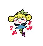 カラフル可愛い女の子のスタンプ(個別スタンプ:09)