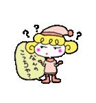 カラフル可愛い女の子のスタンプ(個別スタンプ:30)