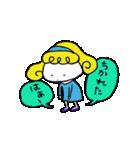 カラフル可愛い女の子のスタンプ(個別スタンプ:33)