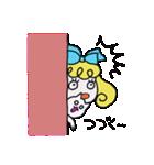 カラフル可愛い女の子のスタンプ(個別スタンプ:39)