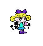 カラフル可愛い女の子のスタンプ(個別スタンプ:40)