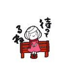 筆girl。vol.7(個別スタンプ:36)
