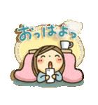 冬・可愛さUP女子スタンプ(個別スタンプ:06)